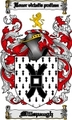 Thumbnail Millspaugh Family Crest  Millspaugh Coat of Arms Digital Download