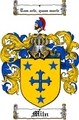 Thumbnail Miln Family Crest  Miln Coat of Arms