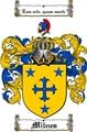 Thumbnail Milnes Family Crest  Milnes Coat of Arms