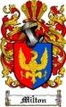 Thumbnail Milton Family Crest  Milton Coat of Arms
