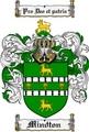 Thumbnail Mindton Family Crest  Mindton Coat of Arms