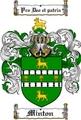 Thumbnail Minton Family Crest  Minton Coat of Arms