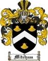 Thumbnail Mitcham Family Crest  Mitcham Coat of Arms