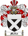 Thumbnail Moffet Family Crest  Moffet Coat of Arms