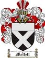 Thumbnail Moffett Family Crest  Moffett Coat of Arms
