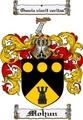 Thumbnail Mohun Family Crest  Mohun Coat of Arms