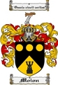 Thumbnail Moion Family Crest  Moion Coat of Arms