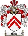 Thumbnail Moir Family Crest  Moir Coat of Arms