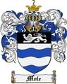 Thumbnail Mole Family Crest Mole Coat of Arms Digital Download