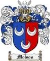 Thumbnail Molson Family Crest Molson Coat of Arms Digital Download