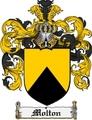 Thumbnail Molton Family Crest Molton Coat of Arms Digital Download