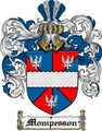 Thumbnail Mompesson Family Crest  Mompesson Coat of Arms