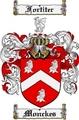 Thumbnail Monckes Family Crest  Monckes Coat of Arms