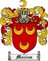 Thumbnail Monins Family Crest Monins Coat of Arms Digital Download
