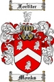 Thumbnail Monks Family Crest  Monks Coat of Arms