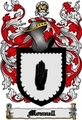 Thumbnail Monnell Family Crest  Monnell Coat of Arms Digital Download