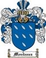 Thumbnail Montanez Family Crest  Montanez Coat of Arms