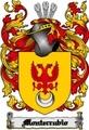Thumbnail Monterrubio Family Crest  Monterrubio Coat of Arms Digital Download