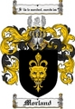 Thumbnail Morland Family Crest  Morland Coat of Arms