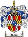 Thumbnail Moss Family Crest Moss Coat of Arms Digital Download