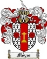 Thumbnail Moyes Family Crest Moyes Coat of Arms Digital Download