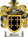 Thumbnail Mullett Family Crest Mullett Coat of Arms Digital Download