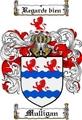 Thumbnail Mulligan Family Crest  Mulligan Coat of Arms