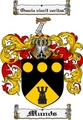 Thumbnail Munds Family Crest  Munds Coat of Arms