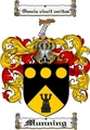 Thumbnail Munning Family Crest  Munning Coat of Arms
