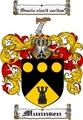 Thumbnail Munnsen Family Crest  Munnsen Coat of Arms