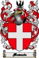 Thumbnail Musante Family Crest  Musante Coat of Arms Digital Download