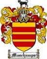 Thumbnail Muschamps Family Crest Muschamps Coat of Arms Digital Download