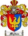 Thumbnail Mylton Family Crest  Mylton Coat of Arms