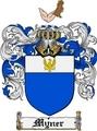 Thumbnail Myner Family Crest  Myner Coat of Arms