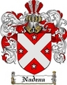 Thumbnail Nadeau Family Crest  Nadeau Coat of Arms Digital Download