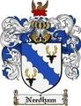 Thumbnail Needham Family Crest Needham Coat of Arms Digital Download