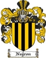 Thumbnail Negron Family Crest  Negron Coat of Arms