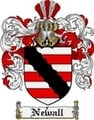 Thumbnail Newall Family Crest  Newall Coat of Arms