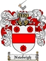 Thumbnail Newbeigh Family Crest  Newbeigh Coat of Arms
