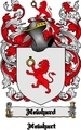 Thumbnail Newhard Family Crest  Newhard Coat of Arms Digital Download