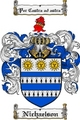 Thumbnail Nichaelson Family Crest  Nichaelson Coat of Arms