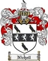 Thumbnail Nicholl Family Crest  Nicholl Coat of Arms
