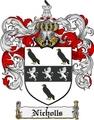 Thumbnail Nicholls Family Crest  Nicholls Coat of Arms