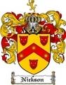 Thumbnail Nickson Family Crest  Nickson Coat of Arms