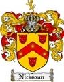 Thumbnail Nicksoun Family Crest  Nicksoun Coat of Arms