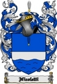 Thumbnail Nicoletti Family Crest  Nicoletti Coat of Arms Digital Download