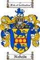 Thumbnail Nobells Family Crest  Nobells Coat of Arms