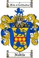 Thumbnail Nobile Family Crest  Nobile Coat of Arms
