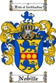 Thumbnail Nobille Family Crest  Nobille Coat of Arms