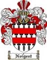 Thumbnail Noigent Family Crest  Noigent Coat of Arms